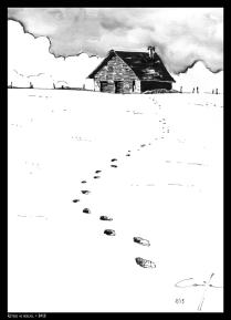 Chalet-neige