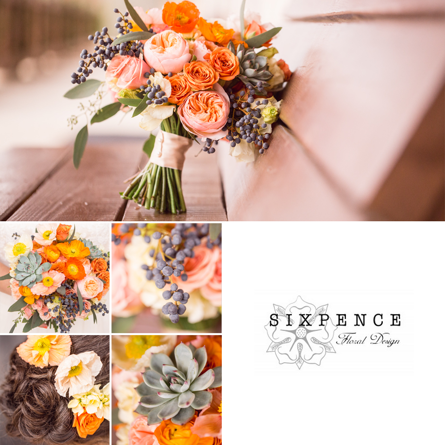 Sixpence Austin Wedding Florists