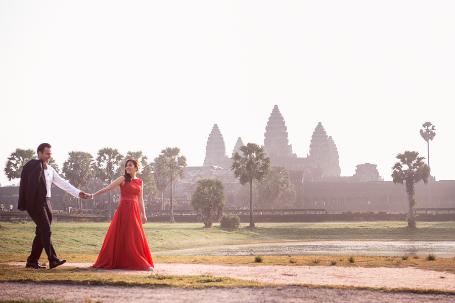 Angkor Wat Engagement Session