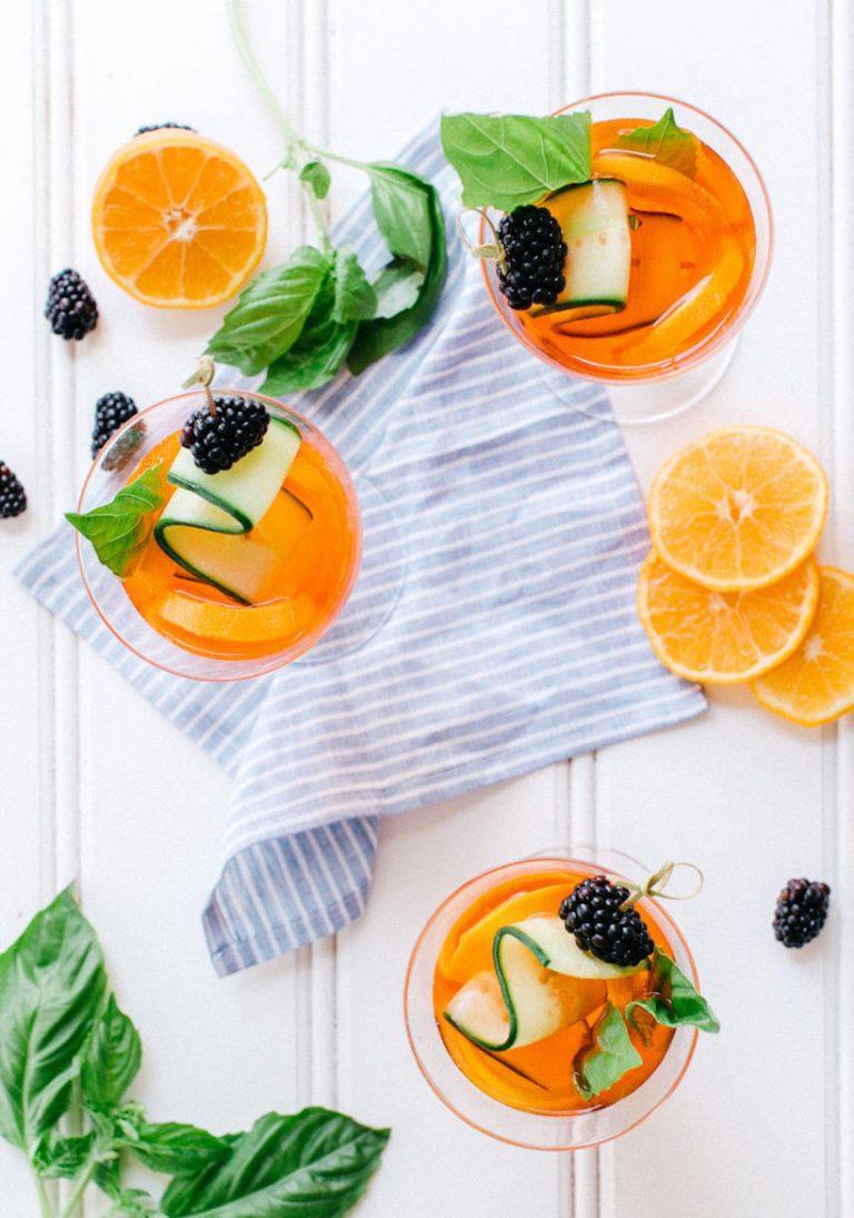 ginger-citrus aperol spritz