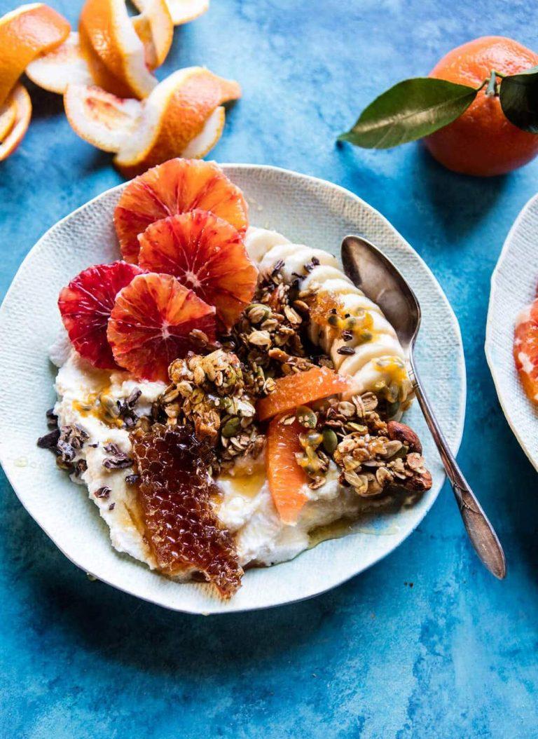 Winter Citrus Ricotta Breakfast Bowl