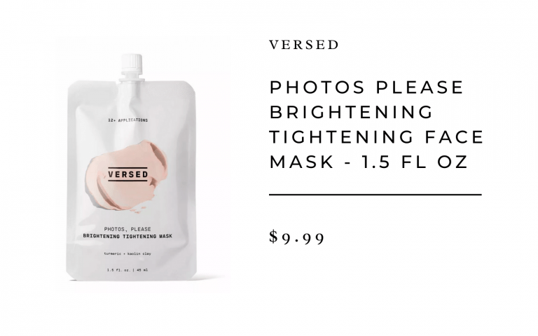 Versed Tightening Face Mask