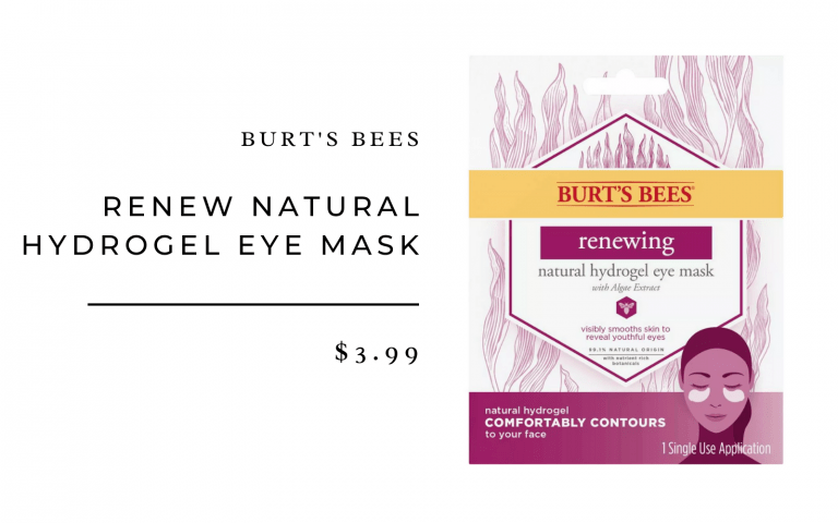 Burt's Bees Renew Natural Hydrogel Eye Mask - 1ct