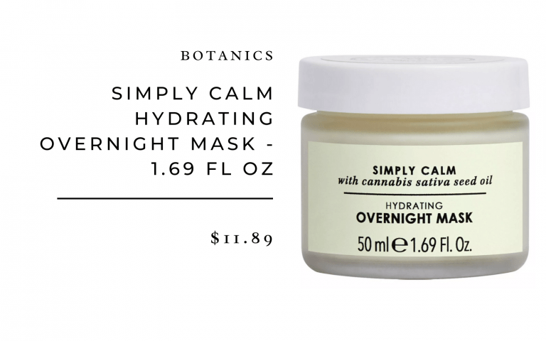 Botanics Simply Calm Hydrating Night Mask