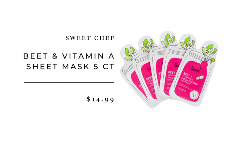 Sweet Chef Beet Face Mask