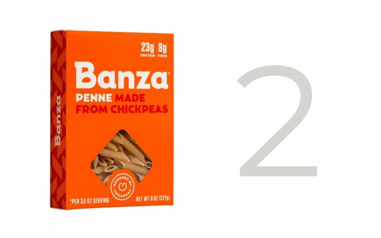 Banza chickpea pasta
