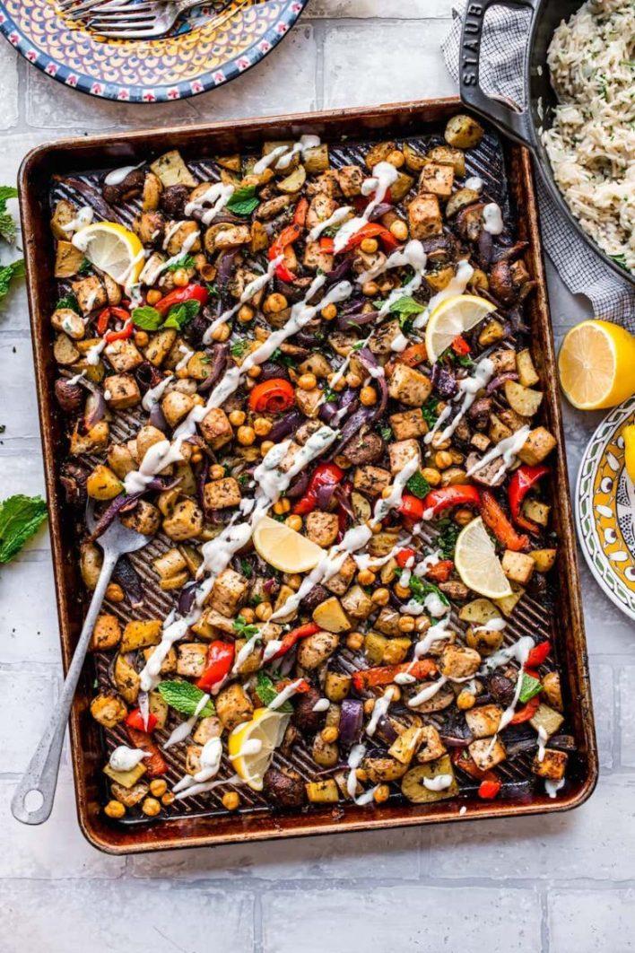 Mediterranean pan frying