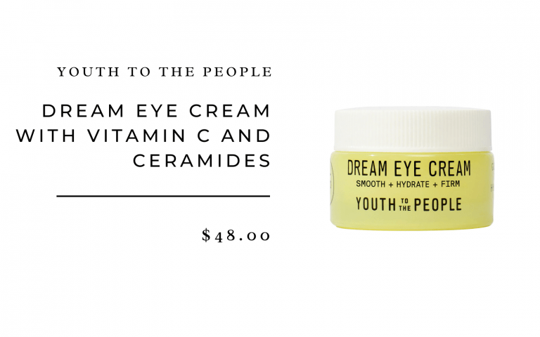 Youth To The People Dream Eye Cream With Vitamin C and Ceramides