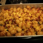 Friday Food | Cheesy Tater Tots