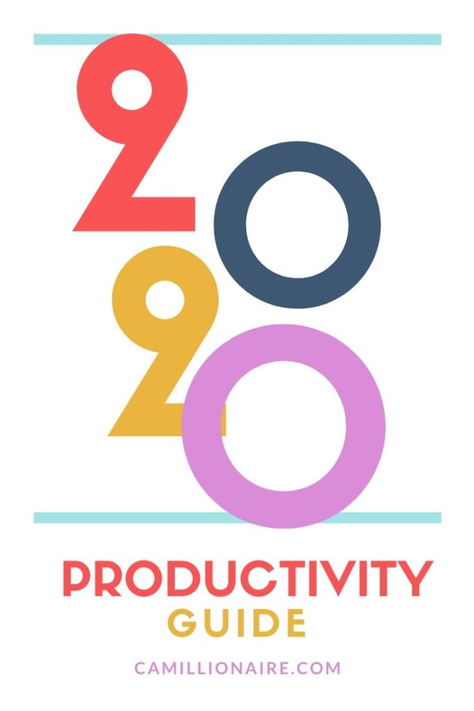 2020 Productivity Guide