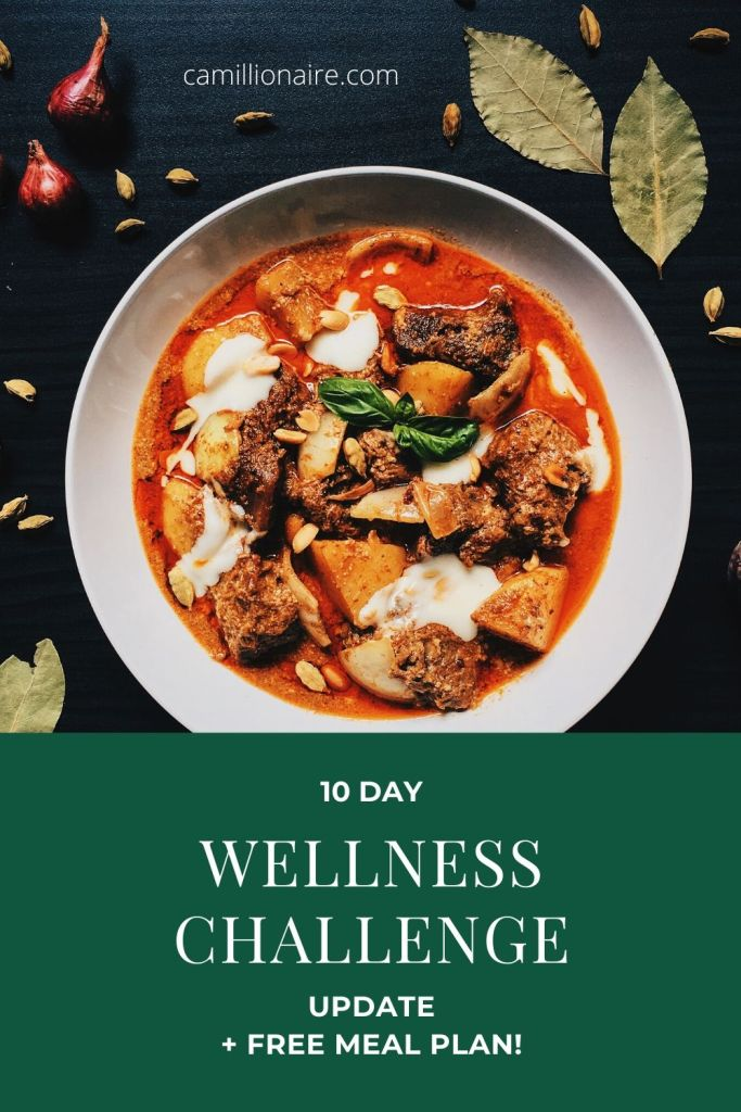 10 day wellness challenge update