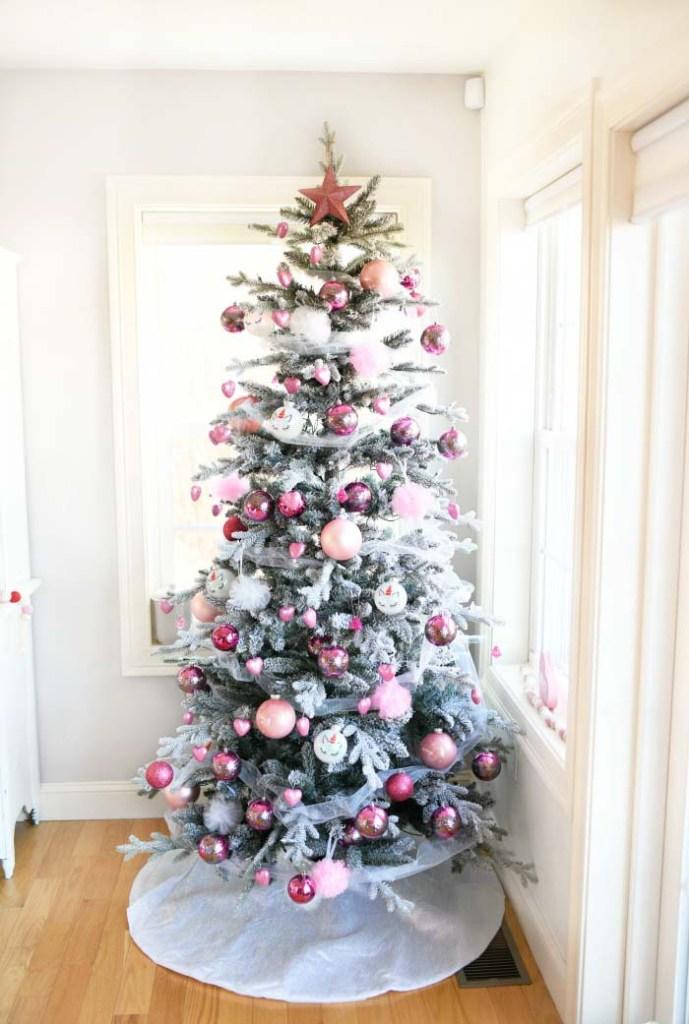 DIY Valentine's day decoration tree