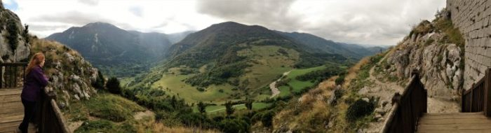 vista desde Montségur