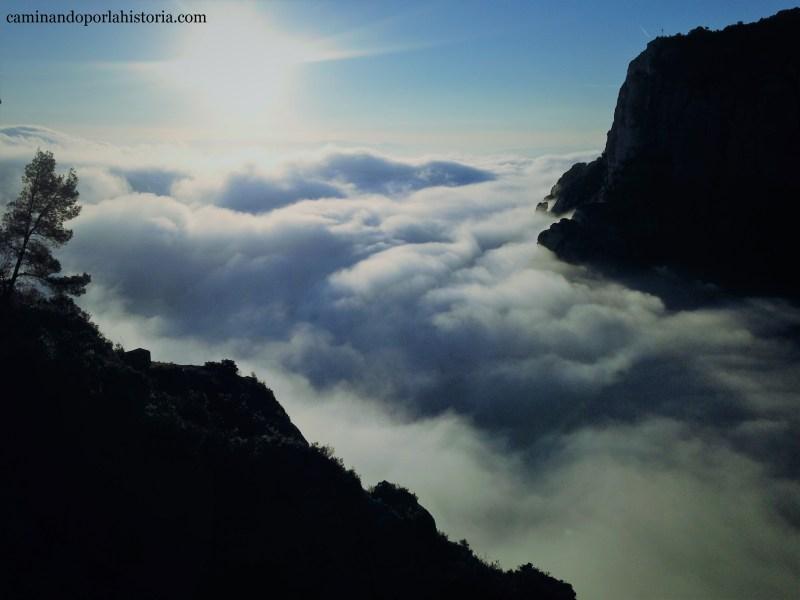 Ruta de las ermitas de Tebaida en las montañas de Montserrat