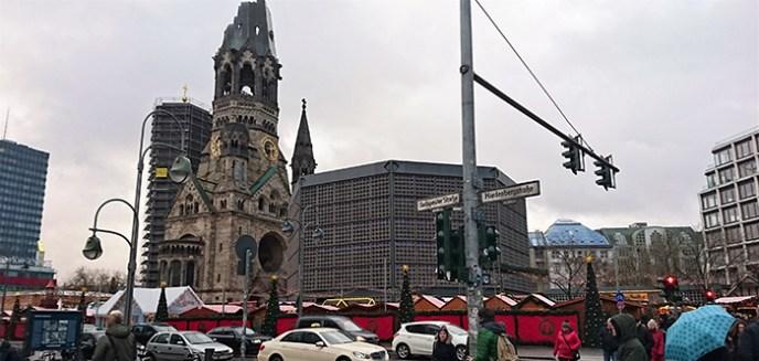 Imagen actual de la Iglesia Memorial Emperador Guillermo