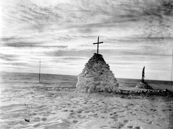 tumbas de la expedición inglesa