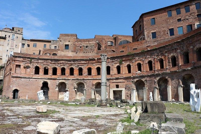 Siete maravillas de la arquitectura que nos dejo el emperador Trajano.