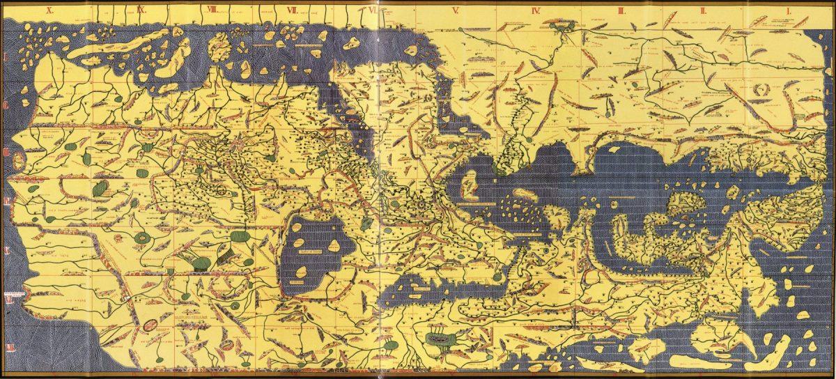 ¿Quién hizo un mapa al revés?