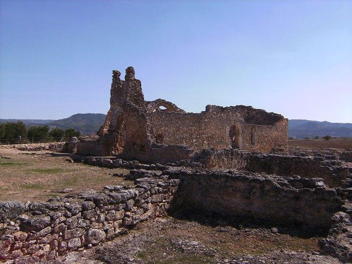 Restos de la antigua Basílica de Recopolis