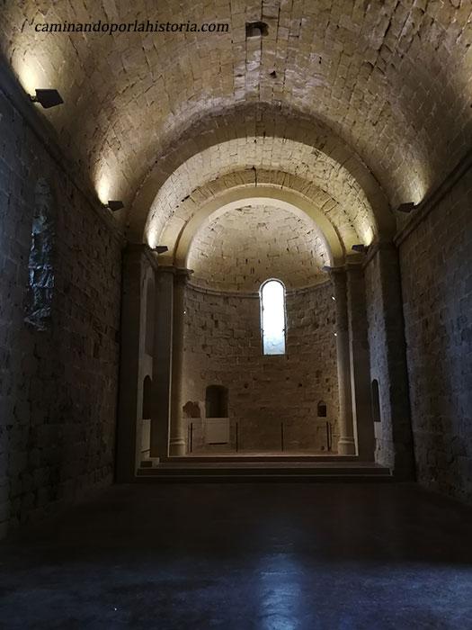 Iglesia de la planta superior.