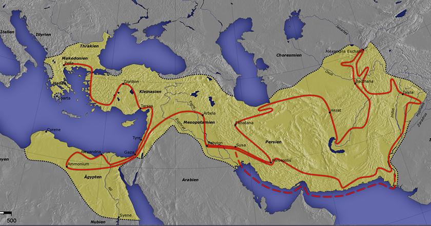 El mundo que nos dejó Alejandro Magno