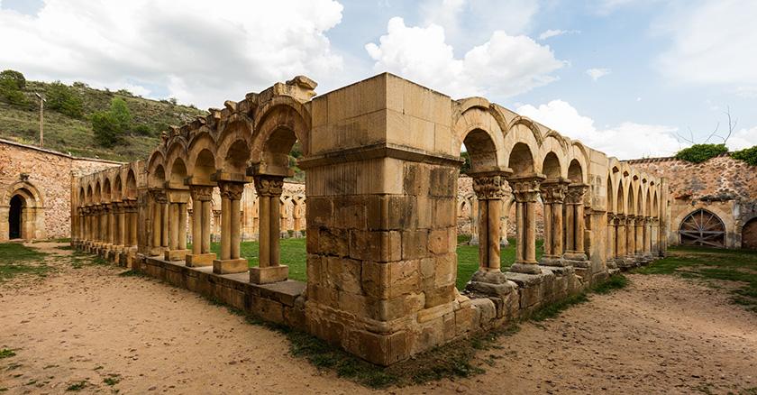 Claustro de San Juan de Duero (Soria)