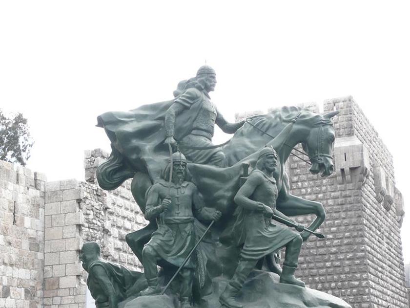 Saladino en Damasco