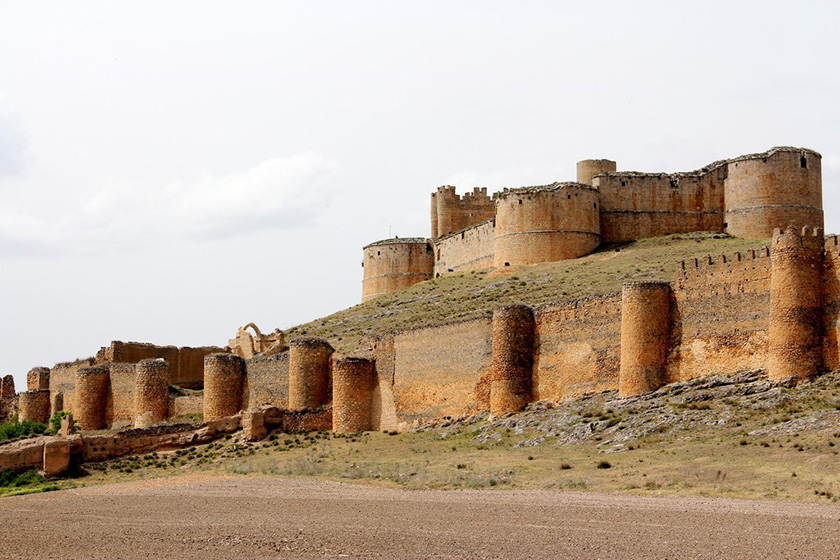 Castillo de Berlanga de Duero (Soria)