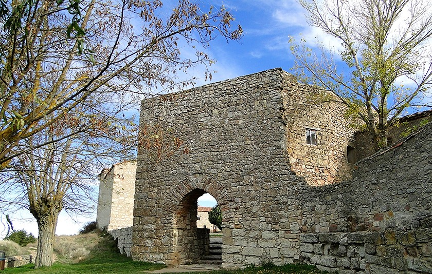 muralla arabe de medinaceli (Soria)