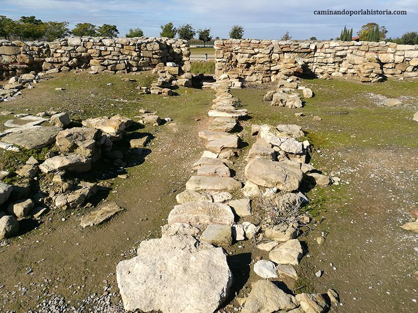 Vilars d'Arbeca contaba incluso con cloacas para la extracción de agua del interior del poblado.