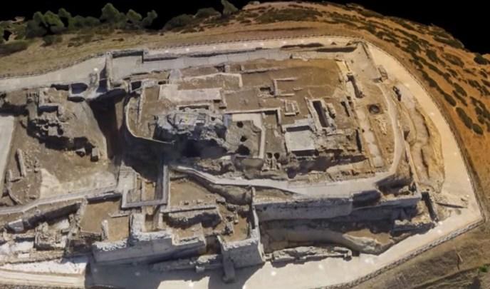 El castellum de Medina Sidonia desde el aire