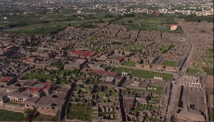 Yacimiento arqueológico de Pompeya.