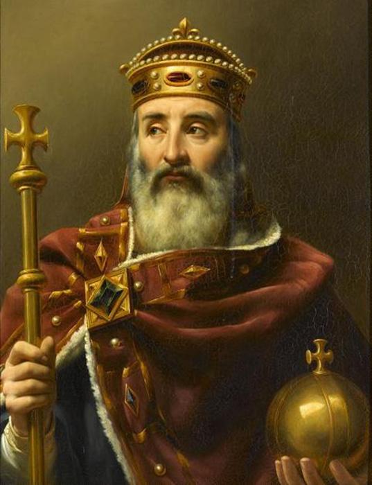 Carlomagno según Louis Philippe