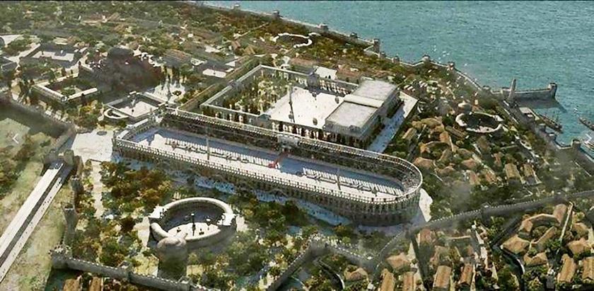 El hipodromo de Constantinopla.