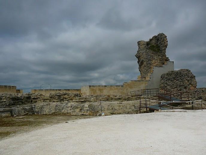 Actualmente la fortaleza de Poley en Aguilar de la Frontera