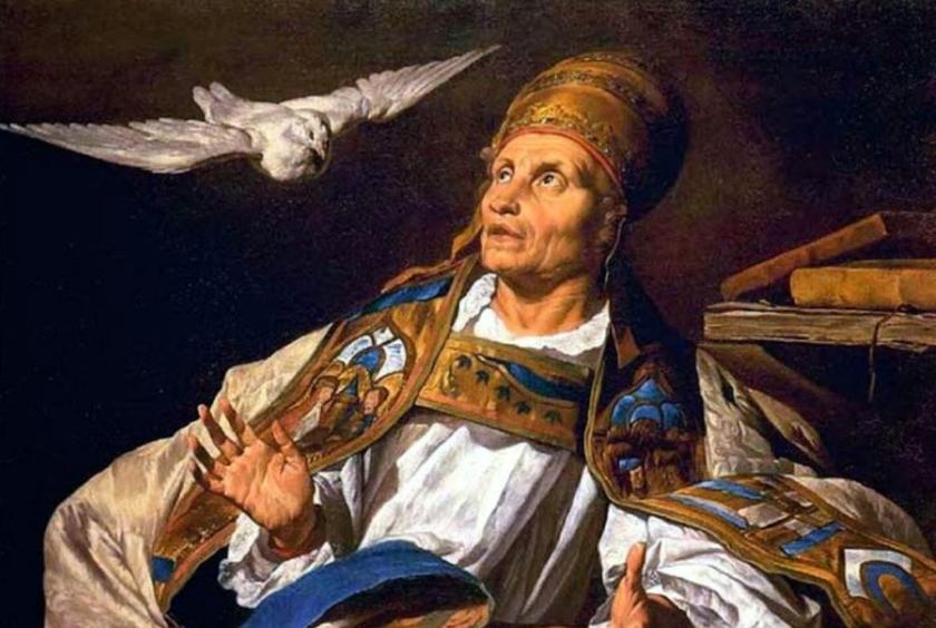 San Gregorio Magno, Papa entre 590-604