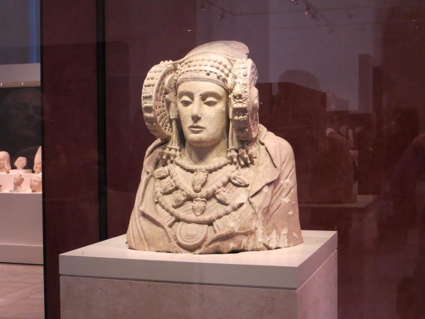 La Dama de Elche, en el Arqueológico Nacional.