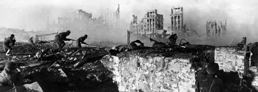 Imagen de Stalingrado, la la guerra mas cruel de la historia de la humanidad.