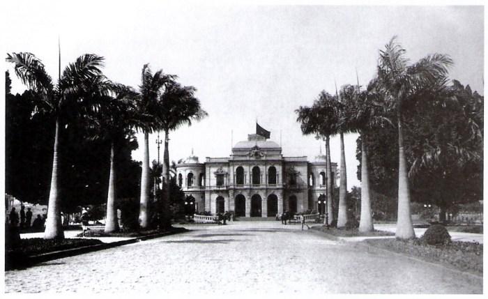 Palacio e praça da liberdade