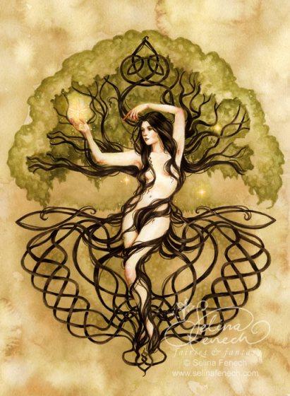 Nemetona, Deusa do Santuário
