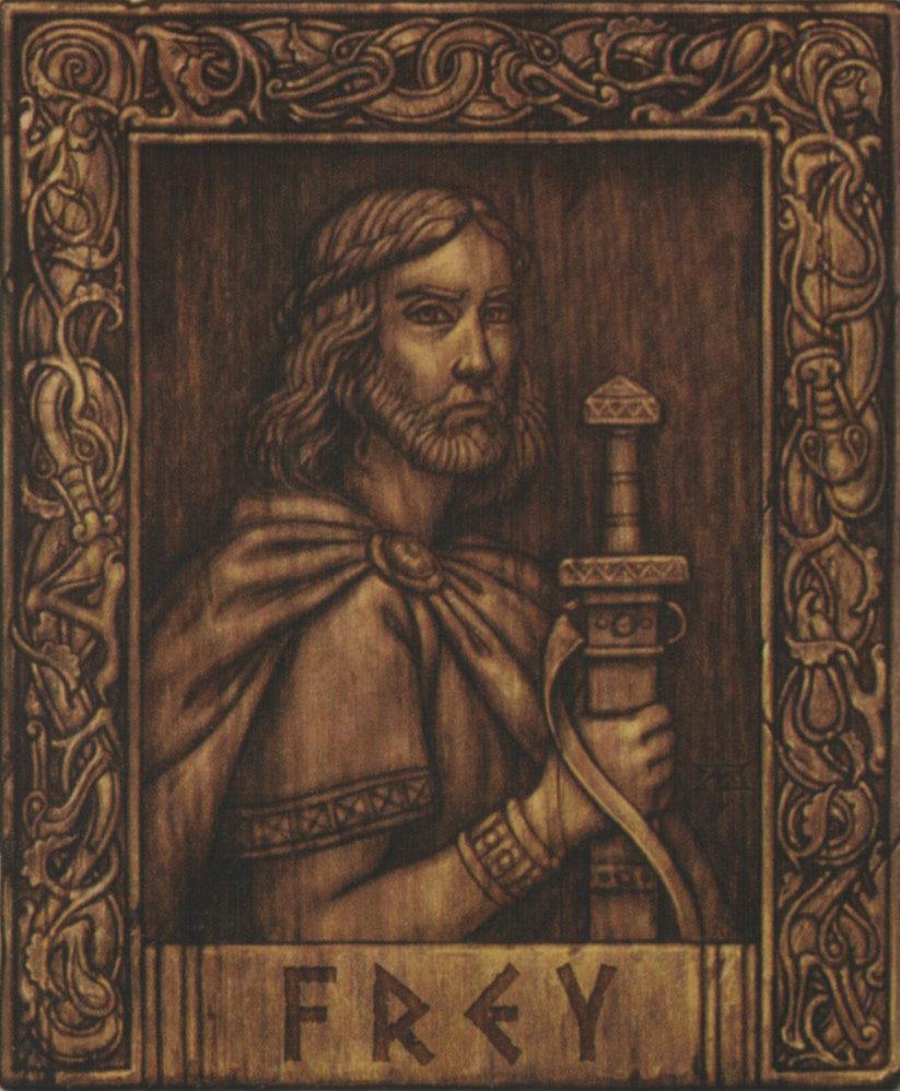 Deus Freyr. Autoria desconhecida.