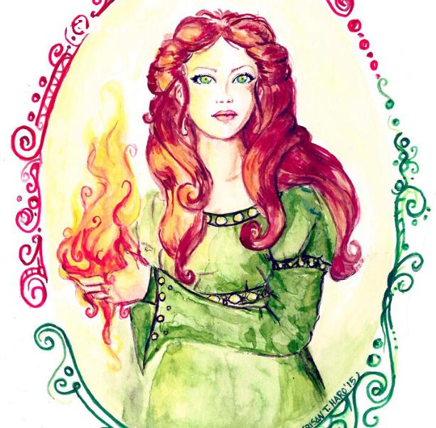 Brigit, a Deusa protetora dos múltiplos atributos