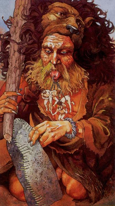 Deus Ogma. Fonte: https://somathread.ning.com/blog/the-old-tribes-of-ireland