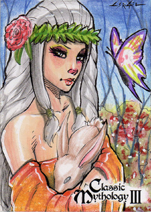 Deusa Eostre. Fonte: https://www.deviantart.com/pernastudios/art/Eostre-Israel-Arteaga-743300205