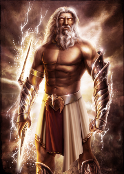 Deus Zeus. Fonte: Deus Zeus. Fonte: https://www.deviantart.com/genzoman/art/Zeus-105217778