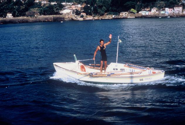 Amyr Klink: Travessia a remo do Atlântico Sul (1984)