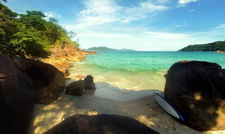 Praia Brava do Sul Ubatuba