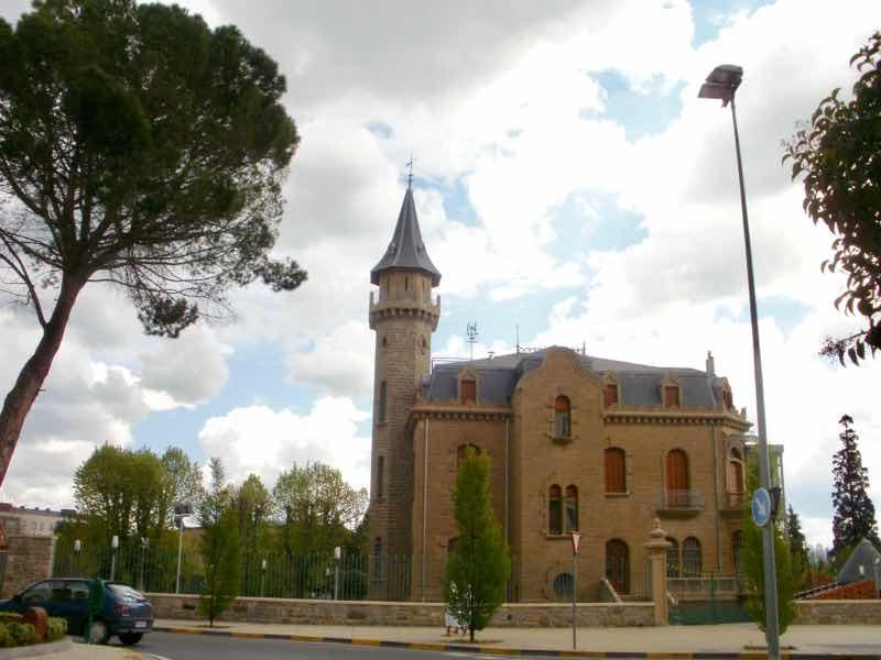 パンプローナ町の教会