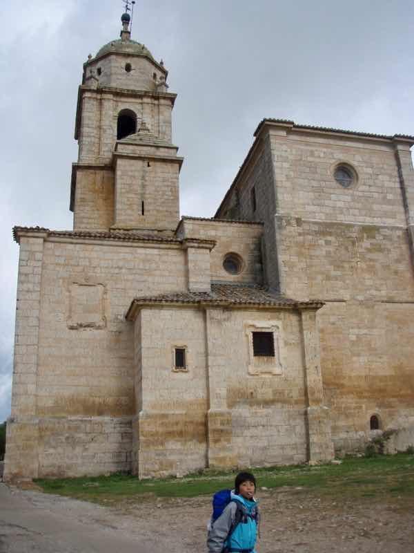 509カスティージャ教会2、カミーノ、旅育、チュッパチャプス