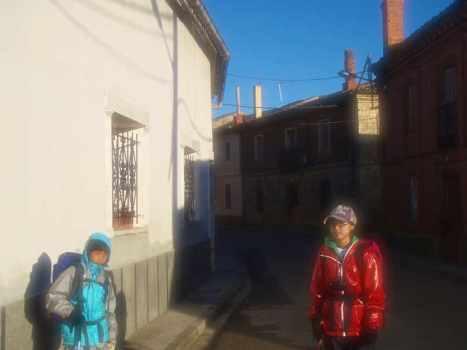 510ポブラシオン・デ・カンポス、サンティアゴ巡礼、出発1.2